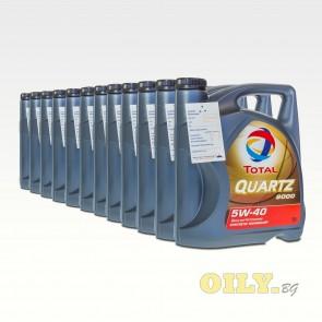 Total Quartz 9000 5W40 - 12 x 5 литра