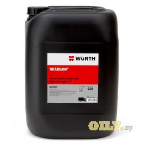 Wurth Triathlon SHPD 15W40 - 20 литра