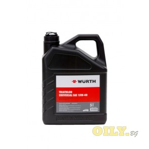 Wurth Triathlon Universal 15W40 - 5 литра