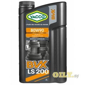 Yacco BVX LS 200 80W90 - 2 литра