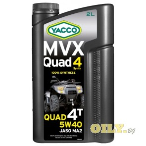 Yacco MVX Quad 4T Synth 5W40 - 2 литра