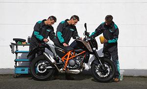 Продукти Motorex за всички видове мотоциклети.