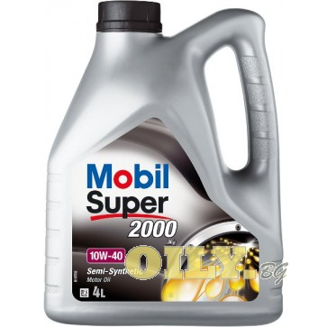 Mobil Super 2000 X1 10W40 - 4 литра