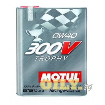 Motul 300V Trophy 0W40 - 2 литра