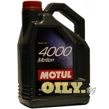 Motul 4000 Motion 15W40 - 4 литра