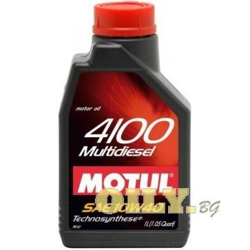 Motul 4100 Multi D 10W40 - 1 литър