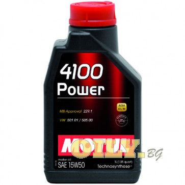Motul 4100 Power 15W50 - 1 литър
