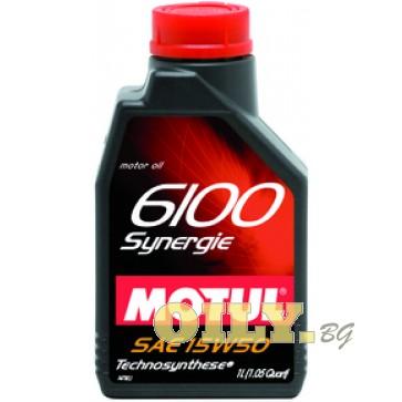 Motul 6100 Synergie 15W50 - 1 литър