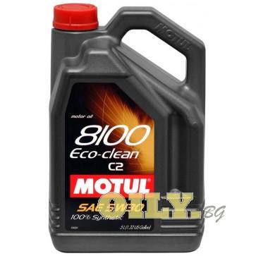 Motul 8100 ECO-Clean 5W30 - 5 литра