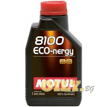 Motul 8100 ECO-nergy 0W30 - 1 литър