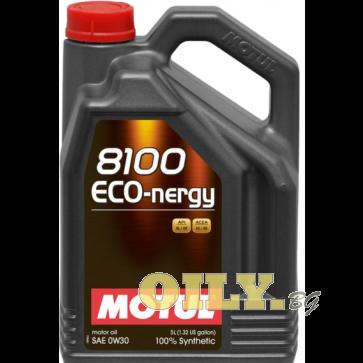 Motul 8100 ECO-nergy 0W30 - 5 литра