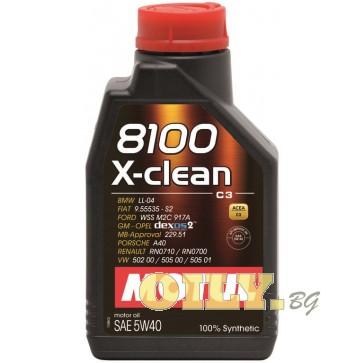 Motul 8100 X-clean 5W40 - 2 литра