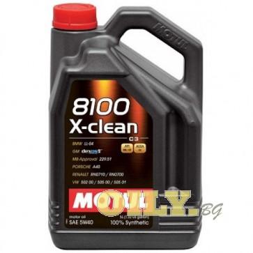 Motul 8100 X-clean 5W40 - 5 литра