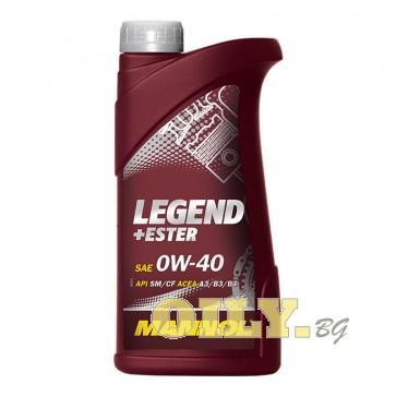Мannol Legend + Ester 0W40 - 1 литър