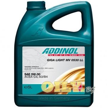 Addinol Giga Light MV 0530 LL - 5 литра