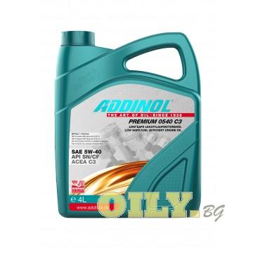 Моторно масло Addinol Premium 0540 C3 - 4 литра