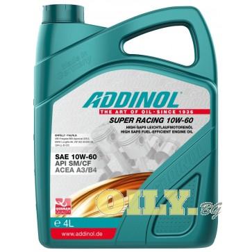 Моторно масло Addinol Super Racing 10W-60 - 4 литра