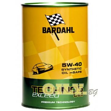 Bardahl-Technos C60 Exceed 5W40 - 1 литър