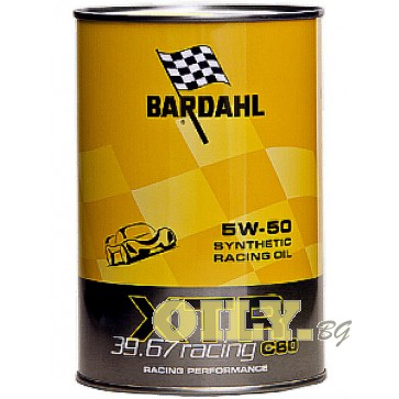 Bardahl-XTR 39.67 Racing C60 5W50 - 1 литър