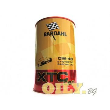 Bardahl - XTC C60 0W40 - 1 литър