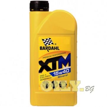 Bardahl - XTM 15W40 - 1 литър