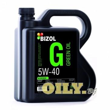 Bizol Green Oil 5W40 - 4 литра