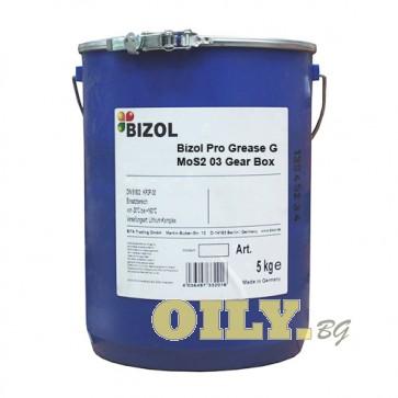 Bizol Pro Grease G MoS2 03 Gear Box - 5 кг