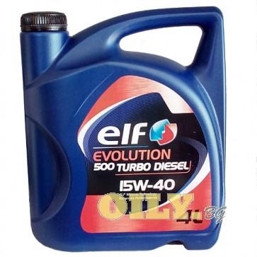 Elf Evolution 500 Turbo Diesel 15W40 - 4 литра