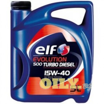 Elf Evolution 500 Turbo Diesel 15W40 - 5 литра