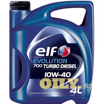 Elf Evolution 700 Turbo Diesel 10W40 - 4 литра