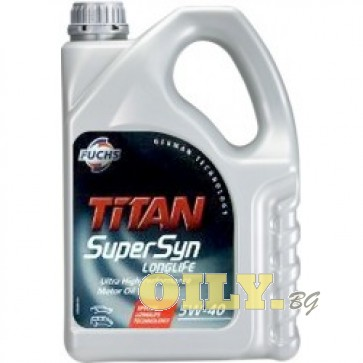 Fuchs Titan SuperSyn Longlife 5W-40 - 4 литра