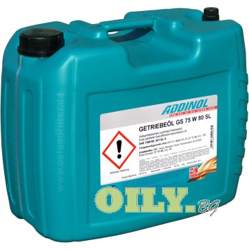 Addinol GS 75W80 SL - 20 литра
