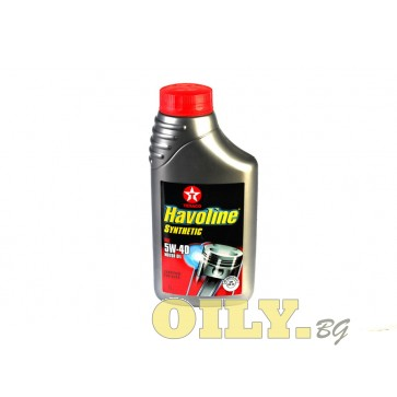 Havoline Synthetic 5W40 - 1 литър