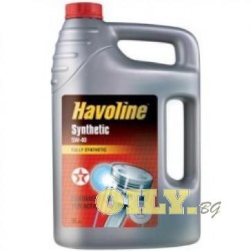 Havoline Synthetic 5W40 5 литра