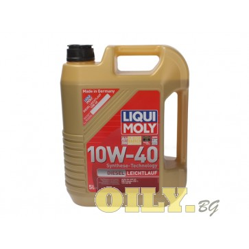 Liqui Moly Lеichtlauf Diesel 10W40 - 5 литра