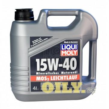 Liqui Moly MoS2 Leichtlauf 15W40 - 4 литра