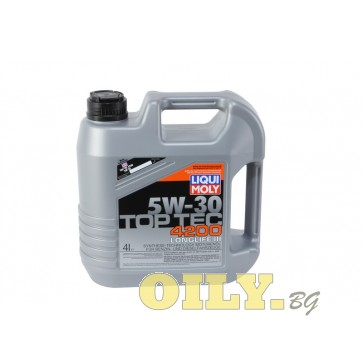 Liqui Moly Top Tec 4200 5W30 - 4 литър