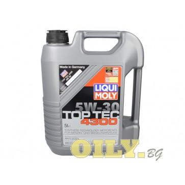 Liqui Moly Top Tec 4300 5W30 - 5 литра