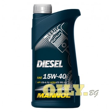 Mannol Diesel 15W40 - 1 литър