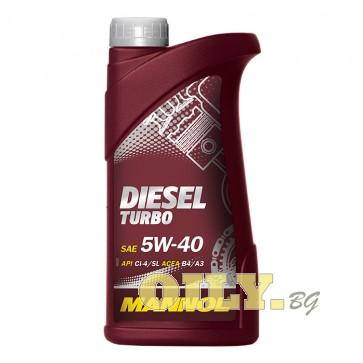 Mannol Diesel Turbo 5W40 - 1 литър