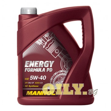 Mannol Energy Formula PD 5W40 - 5 литра