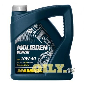 Mannol Molibden Benzin 10W40 - 4 литра