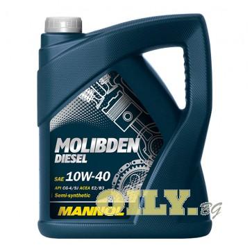 Mannol Molibden Diesel 10W40 - 5 литра