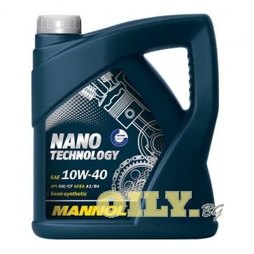 Mannol Nano Technology 10W40 - 4 литра