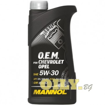 Mannol O.E.M. 5W30 for Chevrolet/Opel - 1 литър