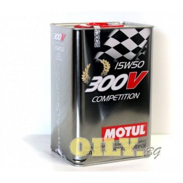 Motul 300V Competition 15W50 - 5 литра