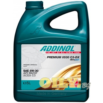 Addinol Premium 0530 C3-DX - 5 литра