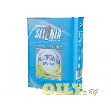 Selenia Multipower Gas 5W40 - 2 литра