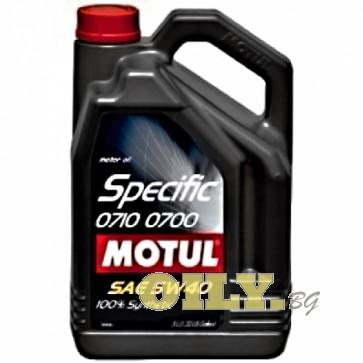 Motul Specific 0710 0700 5W40 - 5 литра