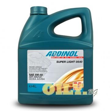 Addinol Super Light 0540 - 4 литра